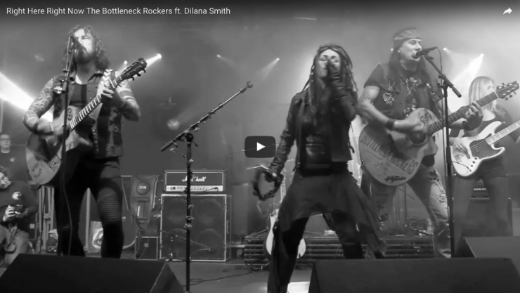 Right Here Right Now The Bottleneck Rockers ft. Dilana Smith